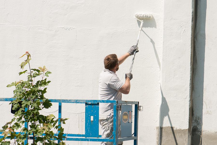 Maler Tåsinge og Langeland klarer den udvendige maling af huset