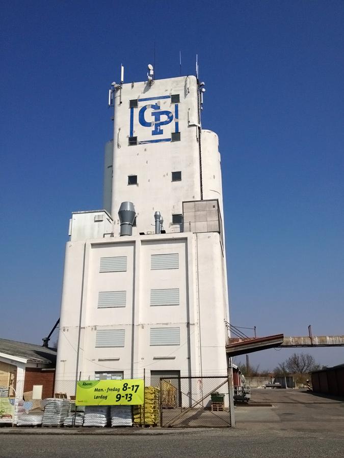 Renovering af logo på silo