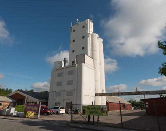 Silomaling af større silo