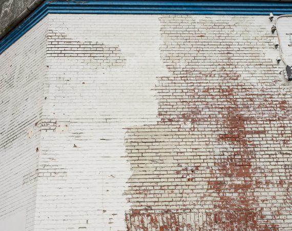 Facade der trænger til renovering