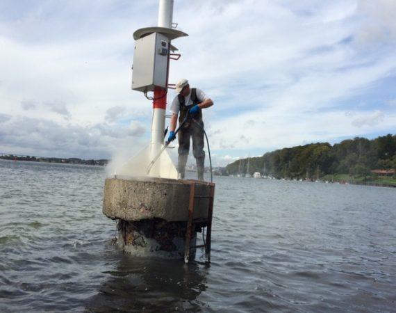Renovering af målestation og fyrtårn
