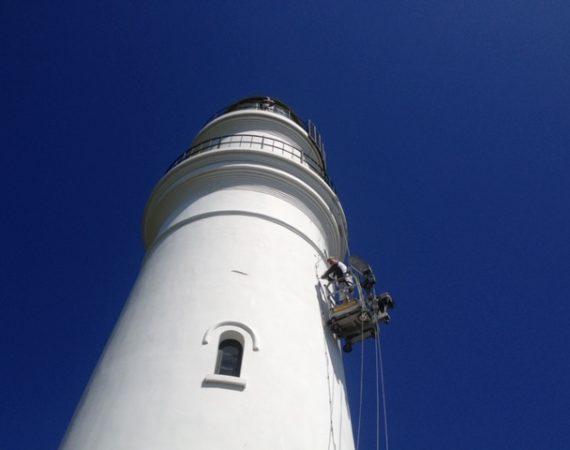 Maling af fyrtårn