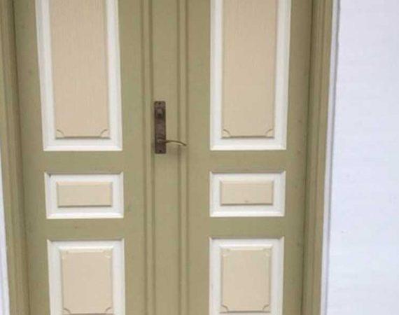Renovering af dør