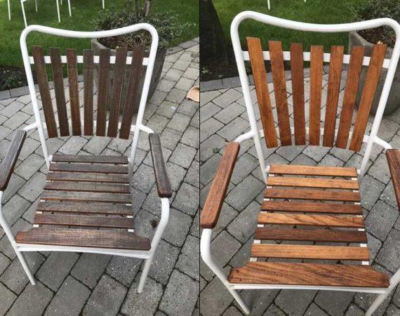 Renovering af stol